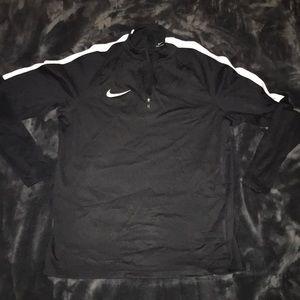 Nike Black Dri-Fit Track Jacket - Men's